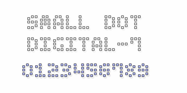 Small Dot Digital-7 Font font text