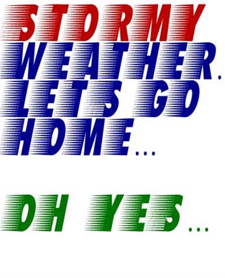 Breezed Caps Font design graphic