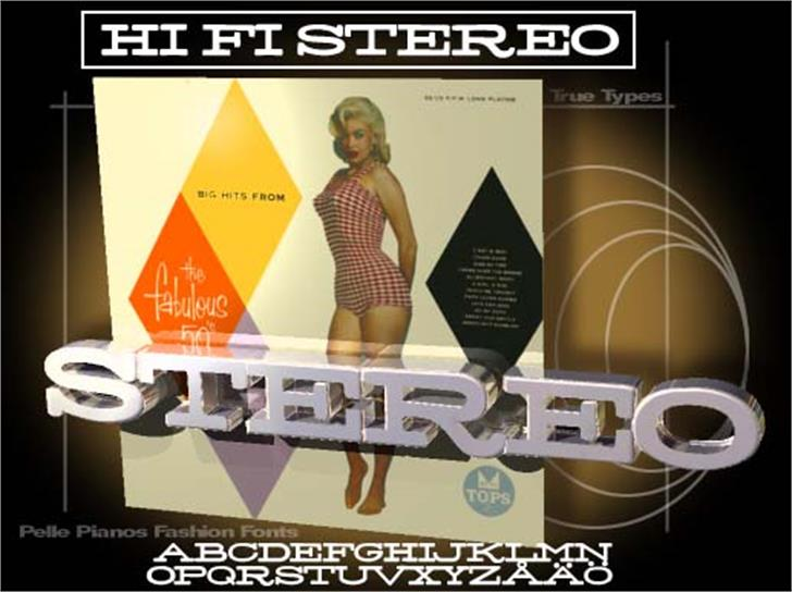 Stereo Font poster screenshot