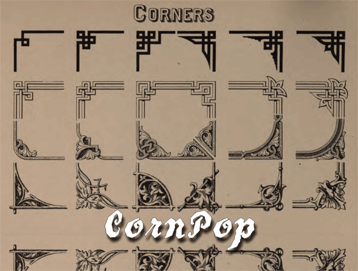 CornPop font by Intellecta Design