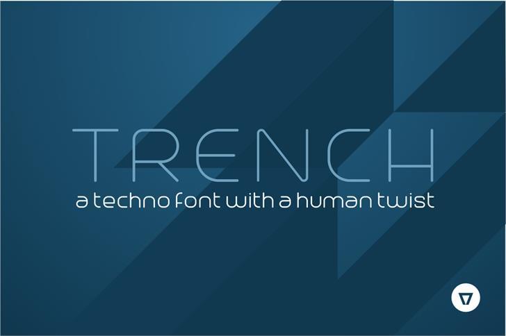 Trench font by NimaVisual