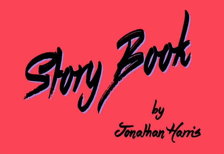 Story Book Font design graphic