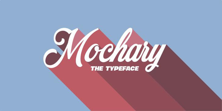 Mochary PERSONAL USE ONLY font by Måns Grebäck