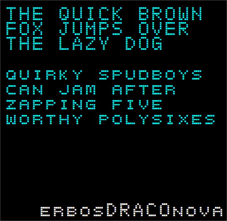 ErbosDraco Nova NBP Font screenshot