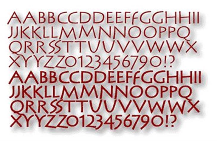 SteinAntik font by Manfred Klein