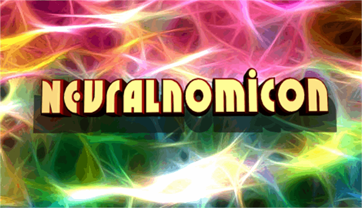 Neuralnomicon font by Iconian Fonts