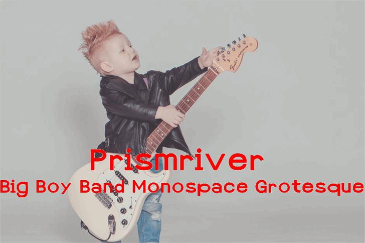 Prismriver Font toddler baby