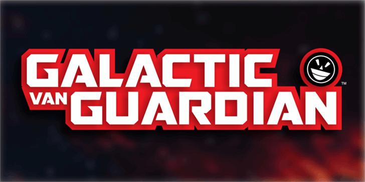 GALACTIC VANGUARDIAN Font screenshot poster