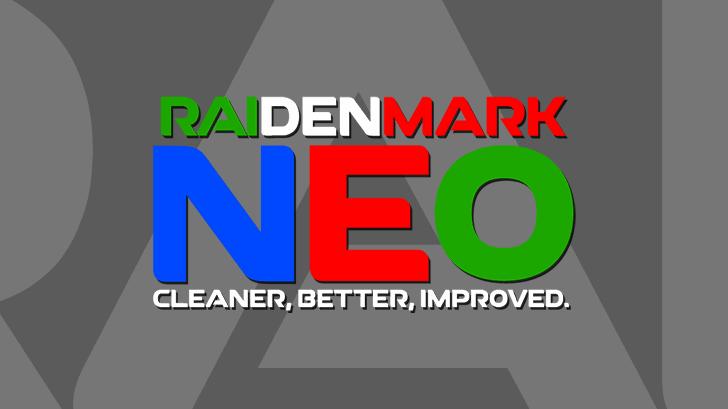 RAI Denmark Neo Font screenshot design