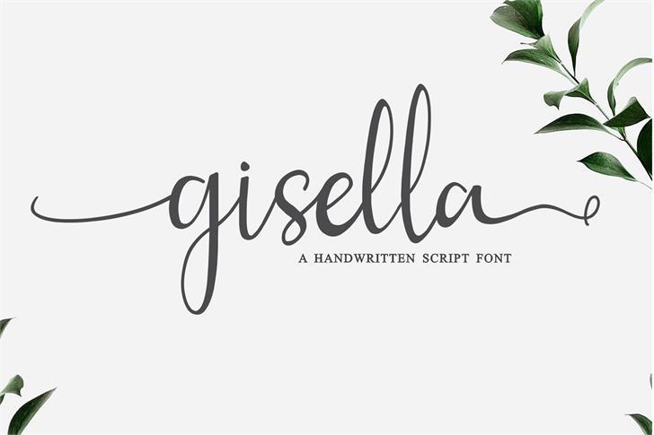 gisella Font poster