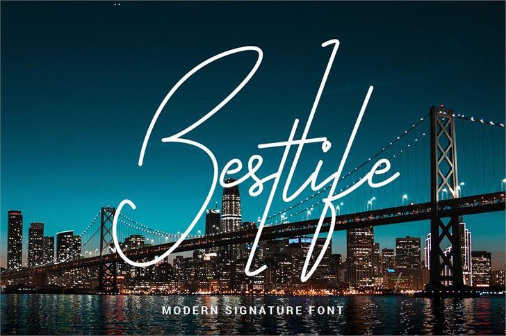 Bestlife Font design