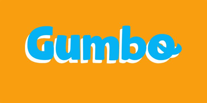 Gumbo DEMO Font poster