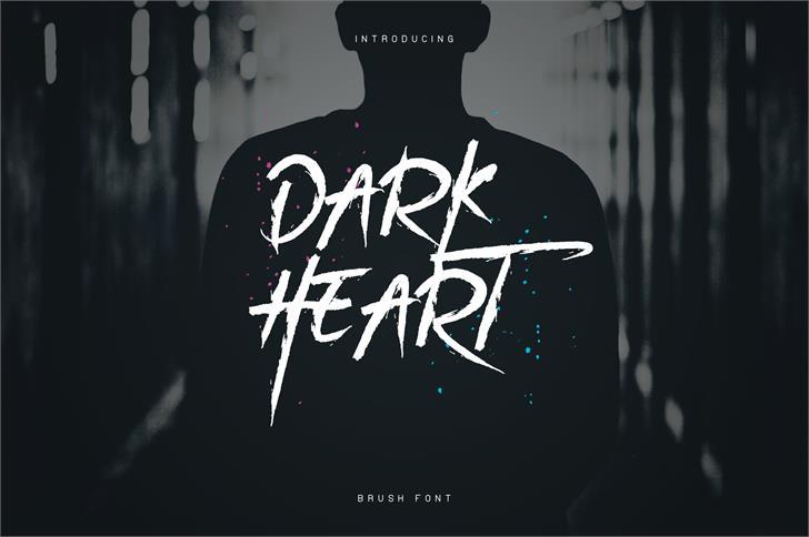 DarkHeart Script font by vladfedotovv