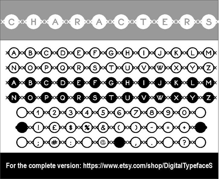 Karykas Font screenshot design