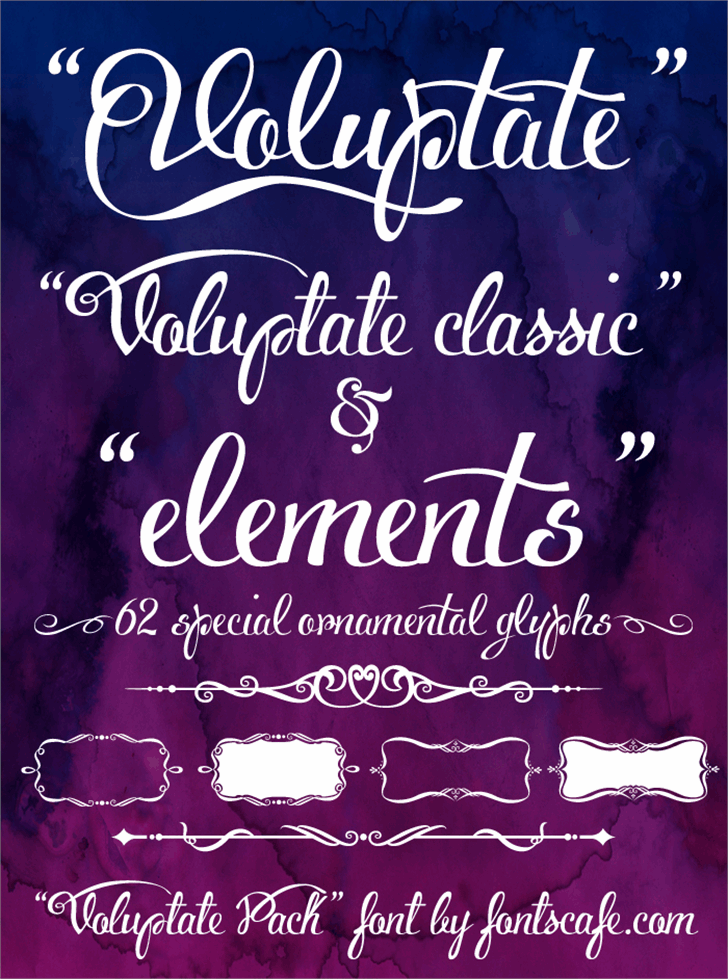 Voluptate_demo Font blackboard text