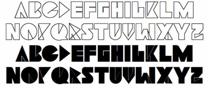 Navia Type Font design typography