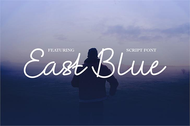 EastBlue Font poster