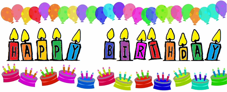 Happy Birthday Font birthday cake cartoon