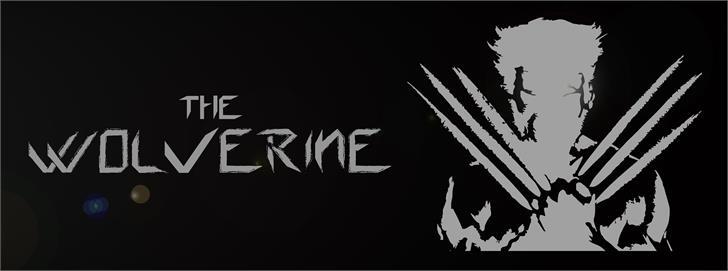 Wolverine's Pseudo font by multazim