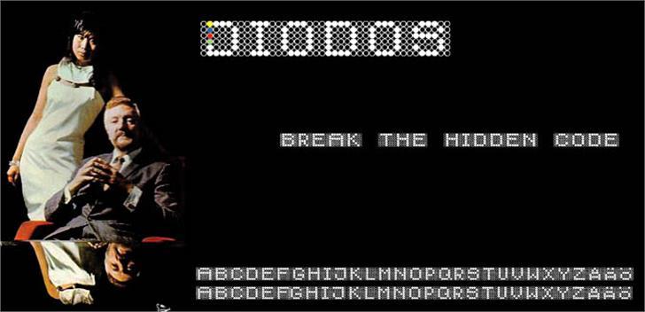 Diodos Font screenshot