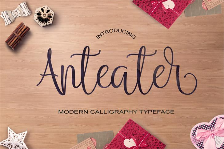 Anteater font by JoeCreative