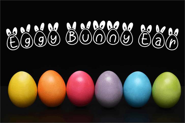 Eggy Bunny Ear font by Attype Studio