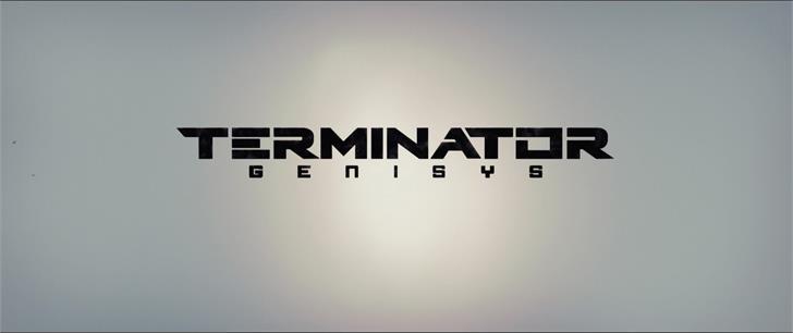 Terminator Genisys Font design graphic