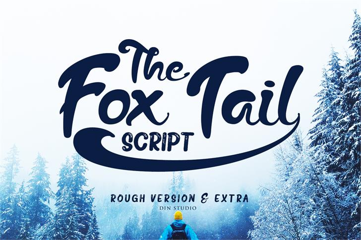 The Fox Tail Sans Font design typography