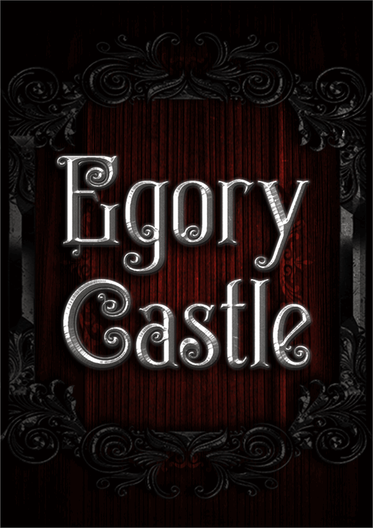 Egorycastle Font sign typography
