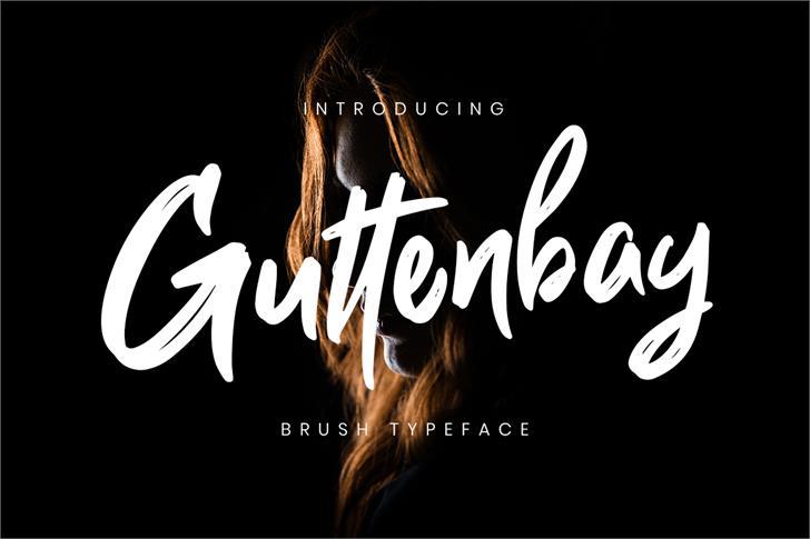 Guttenbay font by Creatype Studio