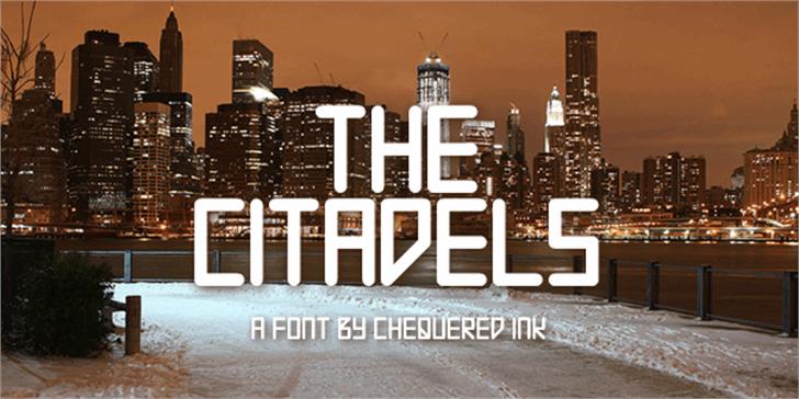 The Citadels Font building outdoor