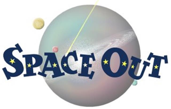 Space Out Font design screenshot