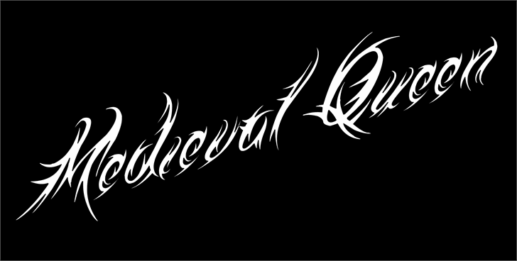 Medieval Queen font by Jonathan S. Harris