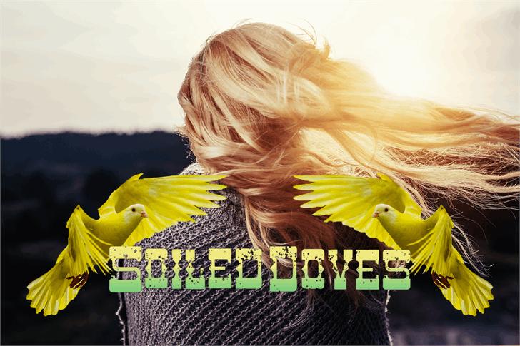 Soiled Doves Font bird toy