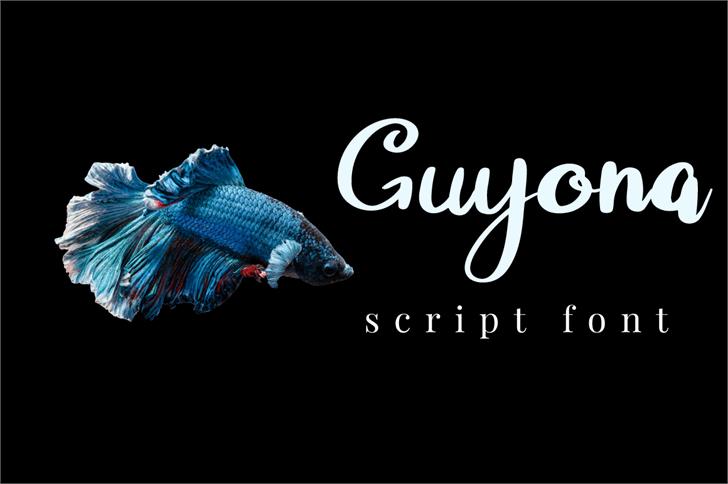 Guyona Font fish aquarium