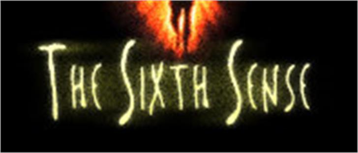 The Sixth Sense font by Filmfonts