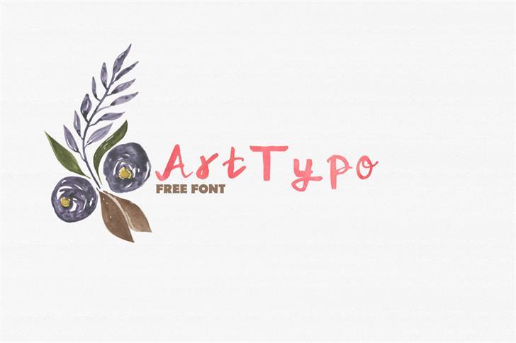 ArtTypo_Symufa font by Creativetacos