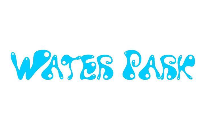 Water Park Font design graphic