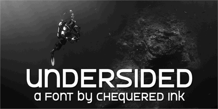 Undersided Font screenshot poster
