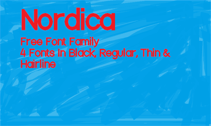 Nordica font by KineticPlasma Fonts
