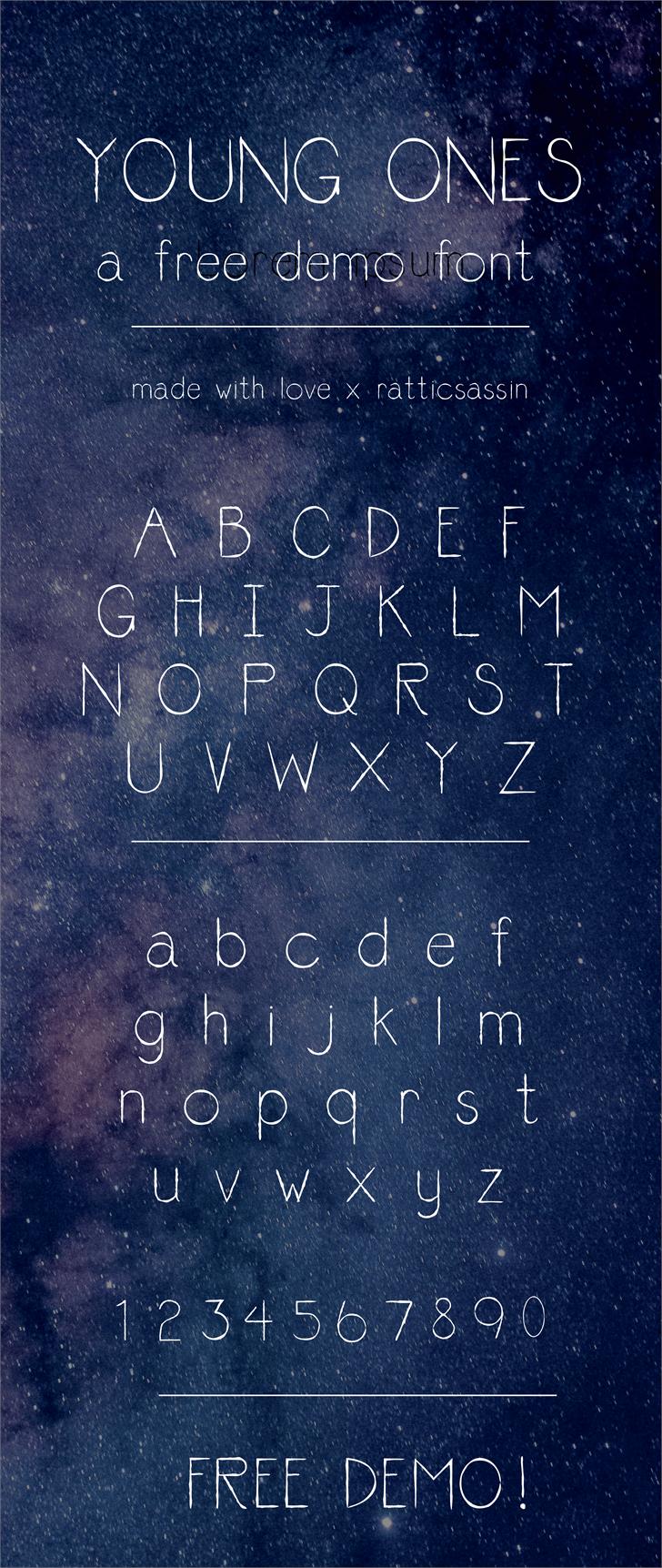 Font Poster