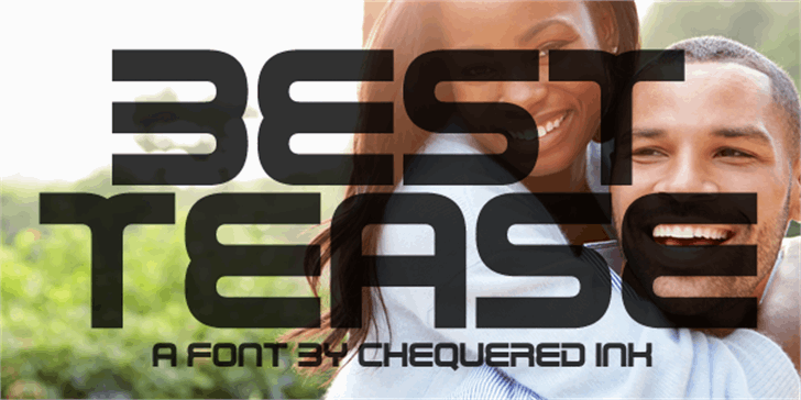 Best Tease font by Chequered Ink