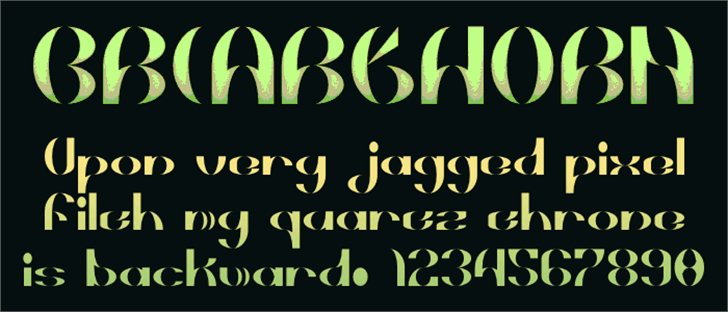 Briarthorn Font book typography