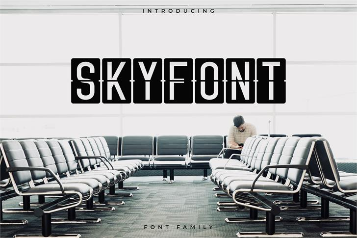 Skyfont by RC graphics