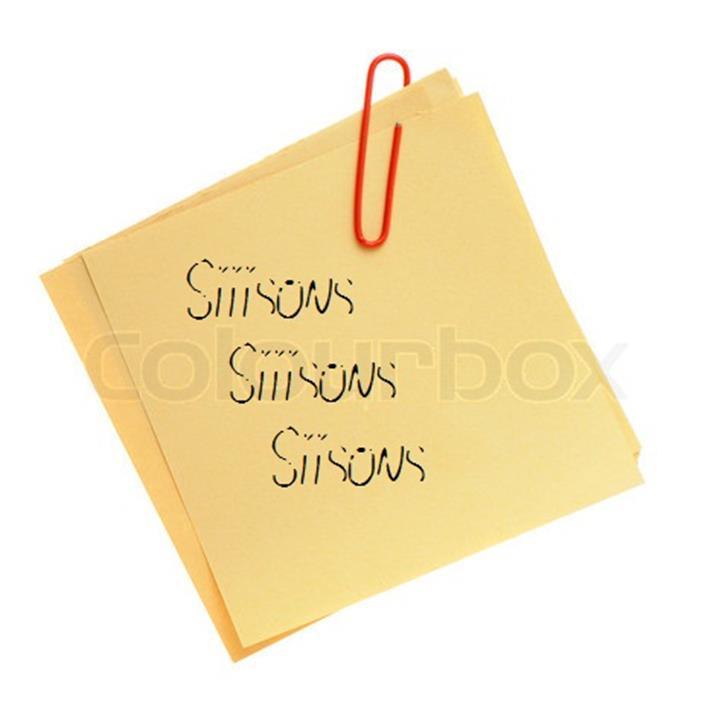 Siiisons Font handwriting design