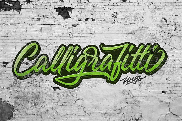 The Lunatique  Font abstract graffiti