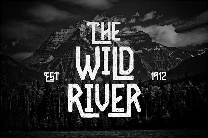 Wild River Font poster screenshot