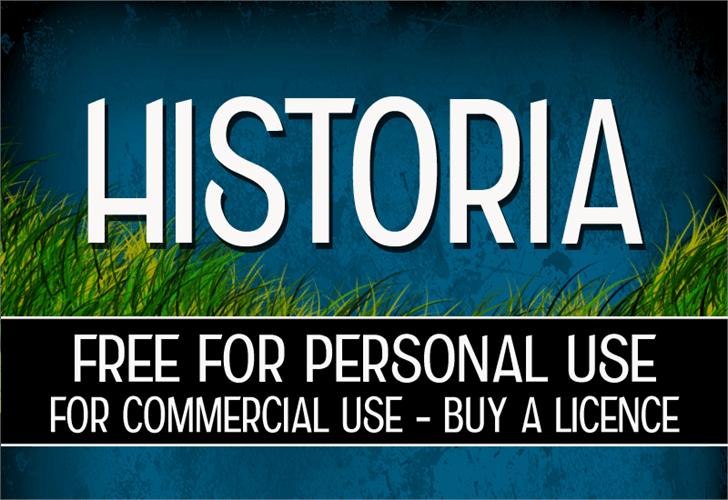CF Historia Font text outdoor