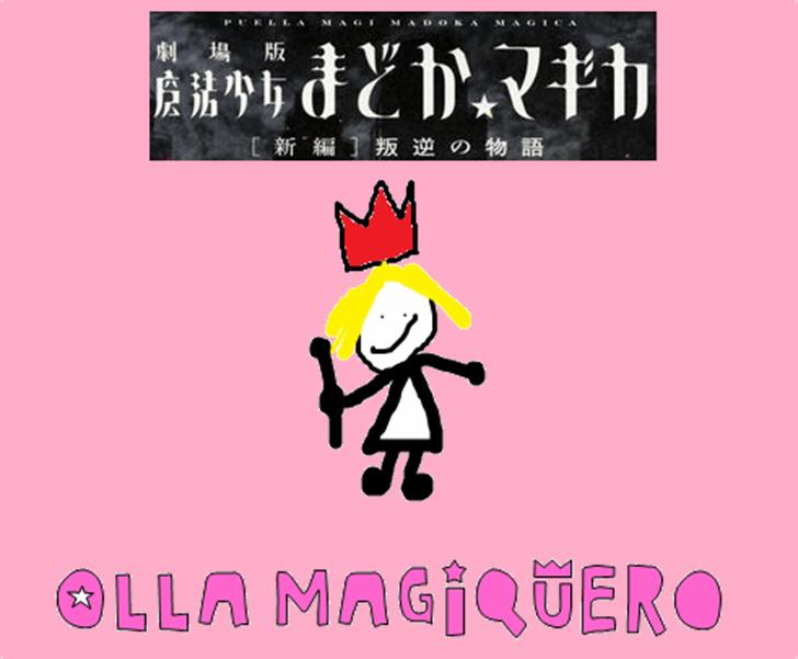 MSMM Olla Magiquero Font cartoon poster
