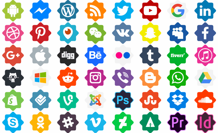 Font Icons Color font by elharrak